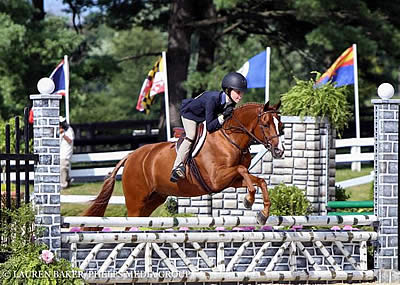 Claire Campbell Rides to the Top in Small Pony Hunter Division at US Pony Finals