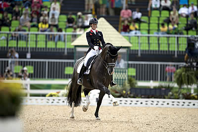 Queen Charlotte Steals the Show, but Germany Leads Olympic Dressage Team Rankings