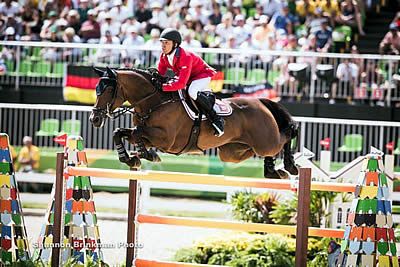 Farrington Leads US in Show Jumping Individual Final at Rio 2016 Olympic Games