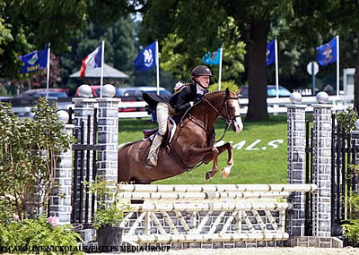 Kyla Sullivan Earns Second Tricolor in Two Days at U.S. Pony Finals