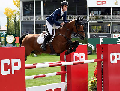 Scott Brash Repeats Victory in CP International Grand Prix at the Spruce Meadows 'Masters'