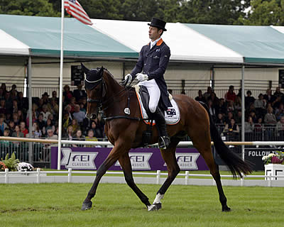 Burton Blazes the Trail at Burghley