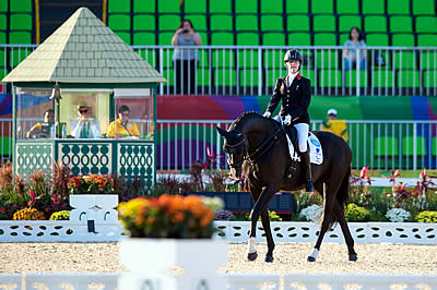 Great Britain Takes Command of Para-Equestrian Team Competition
