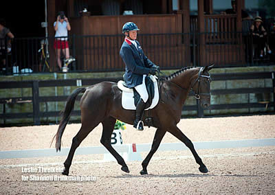 Full Day of Dressage Begins 2016 USEA American Eventing Championships