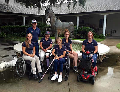 US Paralympic Equestrian Athletes Head to Florida for Mock Competition
