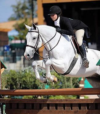 Alexandra Maracic and Lucky Times Capture the $10,000 A-O Hunter Challenge Cup at Tryon