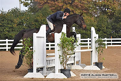 Daniel Geitner Pilots Chapeau to the Win in the $2,500 USHJA National Hunter Derby