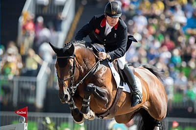 Olympic Champion Nick Skelton to Compete at Olympia