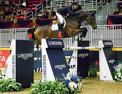 McLain Ward and HH Azur Top an All-Olympic Podium in Toronto