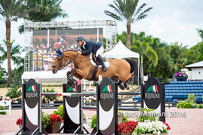 Samuel Parot and Couscous Van Orti Wins $25k Omega Alpha Grand Prix at Holiday & Horses