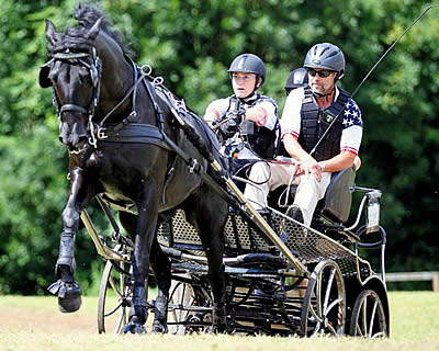 Vote for Para-Driver Stefanie Putnam for USEF Annual Equestrian of Honor Awards