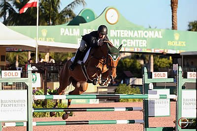 Kevin Babington and Super Chilled Earn First Win of the 2017 Winter Equestrian Festival