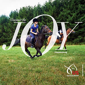 "USEF Launches ""Discover the Joy of Horse Sports"" Campaign"