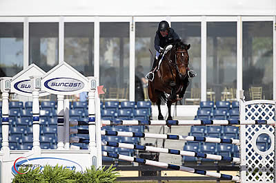 Meredith Michaels-Beerbaum and Daisy Win Suncast 1.50m Championship Jumper Classic at WEF