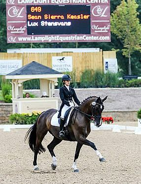 Sierra Keasler Accepts Invite for USEF's Select Athlete's One-on-One Coaching with Charlotte Bredahl