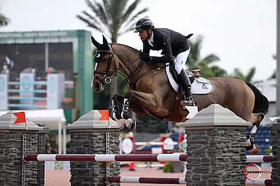 Eric Lamaze and Fine Lady 5 Win $130k Ruby et Violette WEF Challenge Cup Round 5