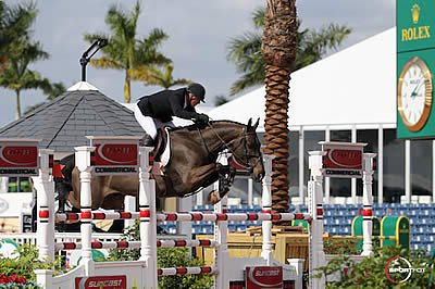 Peter Leone and Wayfarer Top $50,000 Grand Prix CSI 2* at WEF