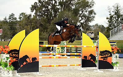 Aaron Vale Flies to the Win in the $41,200 HITS Jumper Classic