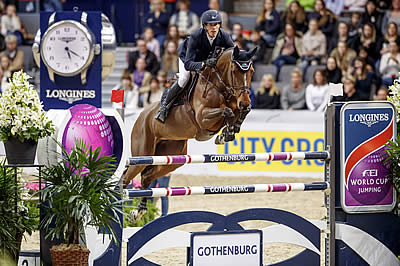 Von Eckermann Victorious in Last-Chance Thriller at Gothenburg