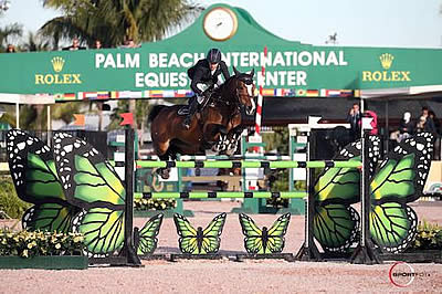 Laura Kraut and Caelle Win $35,000 Douglas Elliman 1.45m at WEF