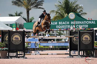 Jonathan McCrea and Special Lux Top $50,000 Grand Prix CSI 2* at WEF