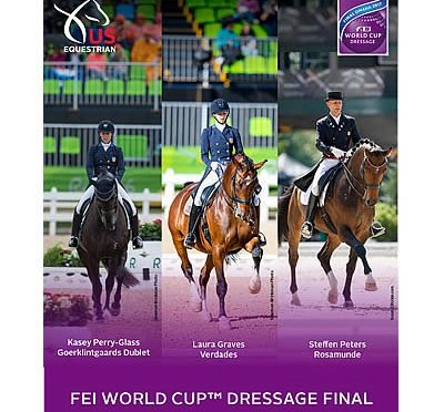 US Equestrian Announces Combinations for 2017 FEI World Cup Dressage Final Omaha