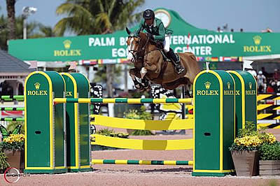 Paulo Santana and Taloubet Top $35k Ruby et Violette WEF Challenge Cup Round 11 CSI 5*