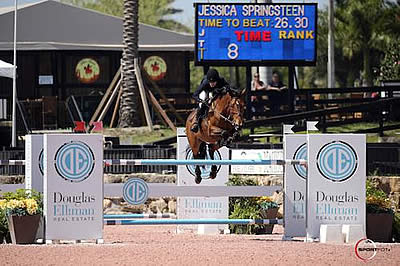 Jessica Springsteen and Davendy S Win $35k Douglas Elliman 1.45m CSI 5* at WEF