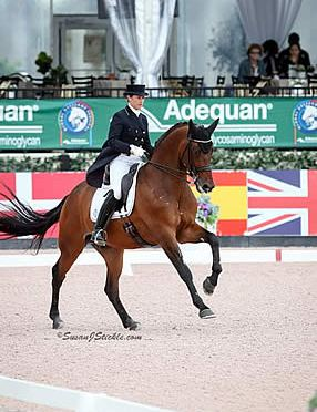 Tinne Vilhelmson-Silfven and Esperance Conclude AGDF 8 with 2nd FEI Intermediaire I Victory