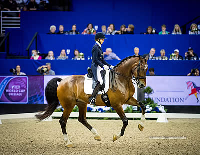 Graves Finishes Second, Perry-Glass and Peters in Top 10 in FEI World Cup Dressage Final