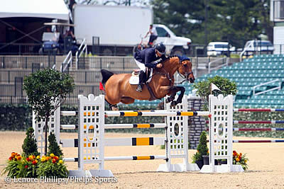 Samuel Parot and Quick Du Pottier Win 1.45m CSI-3* Welcome Speed at Kentucky Spring Horse Show