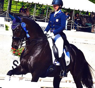 Kasey Perry-Glass Wins US Dressage National Grand Prix Championship