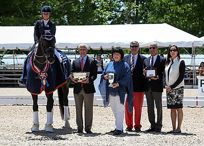 Perry-Glass, Lyle, and Blythe Win Big at US Dressage Festival of Champions