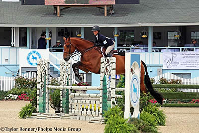 A Year to Remember for Taylor St. Jacques at Devon Horse Show