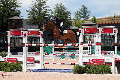 Lacey Gilbertson and Baloppi Dominate $35k Suncast Commercial Welcome Stake CSI 4*