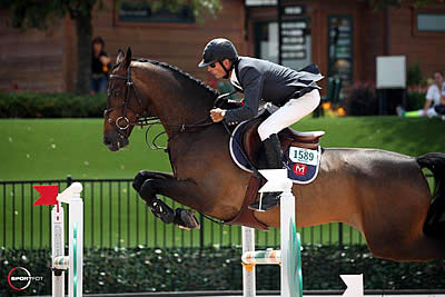 Eric Navet and Catypso Dash to Win in $35,000 1.50m Tryon Challenge CSI 3*