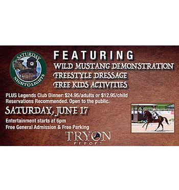 Tryon Resort to Feature Mustang Leadership Partners Demonstration and Freestyle Dressage
