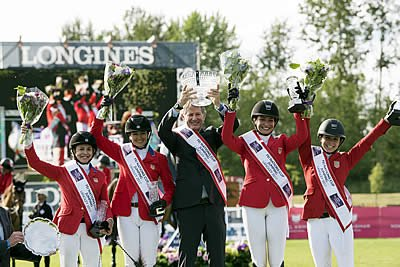 US Show Jumping Team Secures Spot at FEI Nations Cup Final; Earns Gold at CSIO4* Langley