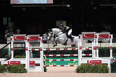 Vanderveen and Bull Run's Faustino De Tili Win 1.45m Suncast Commercial Welcome Stake CSI3*