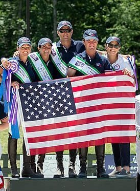 US Eventing Team Wins FEI Nations Cup Eventing Competition at Great Meadow International