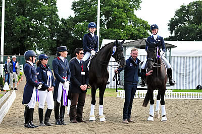 US Dressage Team Wins Bronze in FEI Nations Cup CDIO3* Hickstead
