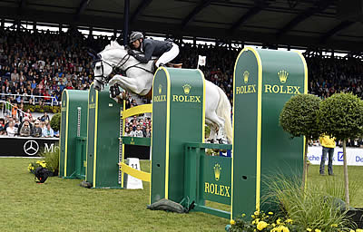 A Thrilling Jump Off Saw Gregory Wathelet Claim Victory in Rolex Grand Prix at CHIO Aachen