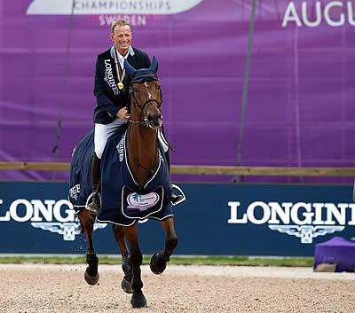 Fairytale Finish as Sweden's Fredricson Wins Jumping Title