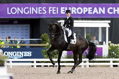 Germany Takes the Early Lead in Dressage