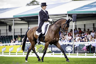 Legendary Todd and Leonidas II Take Over Dressage Lead at Burghley