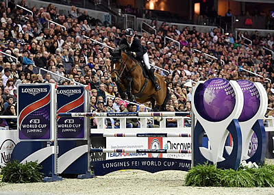 Beat Mändli Claims Top Prize in $130,000 Longines FEI World Cup Jumping Washington