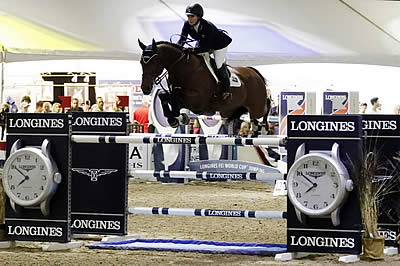 Porter Records Emotional Longines Victory in Sacramento