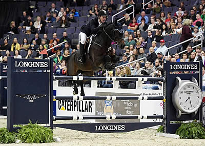HH Carlos Z Leaves Equestrian Sport with a Win at WIHS CSI4*-W