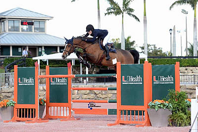 Jessica Springsteen and RMF Swinny Du Parc Top $35k Ultima Fitness 1.50m Qualifier CSI 4*