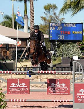 Andrade Records Another Win in the $30,000 UHealth Grand Prix at ESP New Year's